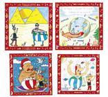 LOT DE 10 CARTES DE VOEUX ACTION CONTRE LA FAIM 15 X 15 cm avec 10 enveloppes