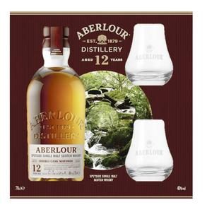SINGLE MALT SCOTCH WHISKY ABERLOUR 12 ANS 40°
