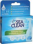 2 TABLETTES NETTOYANTES SEA CLEAN + FLACON PULVERISATEUR VIDE OFFERT