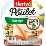 BLANC DE POULET NATURE CONSERVATION SANS NITRITE HERTA