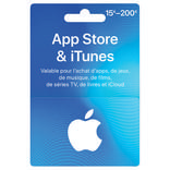CARTE ITUNES VARIABLE