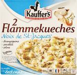FLAMMEKUECHES AUX NOIX DE ST JACQUES SURGELEES KAUFFER'S