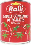 DOUBLE CONCENTRE DE TOMATES ROLLI