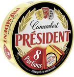 CAMEMBERT AU LAIT PASTEURISE PRESIDENT