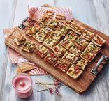PIZZA VEGETARIENNE 30 TOASTS