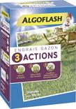 ENGRAIS GAZON 3 ACTIONS AVEC ADDITIF HOMOLOGUE NF U 44-204 ALGOFLASH