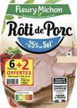 ROTI DE PORC - 25 % DE SEL FLEURY MICHON