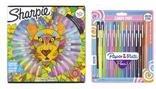 COFFRET DE 30 MARQUEURS PERMANENTS + 24 FEUTRES D'ECRITURE FLAIR CANDY POP