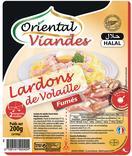 LARDONS DE VOLAILLE FUMES HALAL ORIENTAL VIANDES
