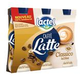 BOISSON LACTEE UHT SUCREE CAFFE LATTE LACTEL