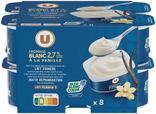 FROMAGE BLANC VANILLE 2,7% MG U
