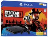 CONSOLE PS4 1 TO + le Jeu RED DEAD REDEMPTION II SONY