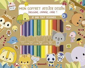 MON COFFRET ATELIER DESSIN - JE SAIS TOUT DESSINER