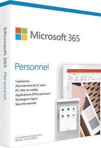 CARTE MICROSOFT OFFICE 365 PERSONNEL