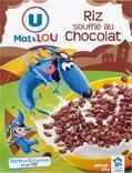 RIZ SOUFFLE AU CHOCOLAT U MAT & LOU