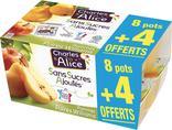 DESSERT FRUITIER SANS SUCRES AJOUTES CHARLES & ALICE