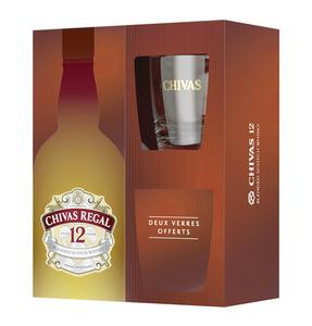 BLENDED SCOTCH WHISKY CHIVAS 12 ANS 40°