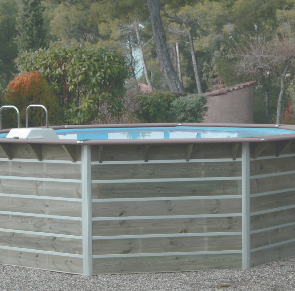 piscine bois super u