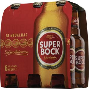 BIERE BLONDE SUPER BOCK 5.2°