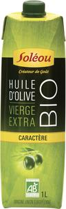 HUILE OLIVE VIERGE EXTRA DE CARACTERE BIO SOLEOU
