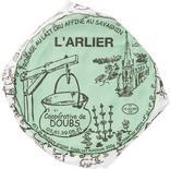 L'ARLIER AU LAIT CRU AFFINE AU SAVAGNIN FROMAGERIE DE DOUBS