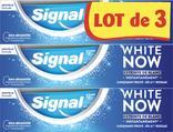 DENTIFRICE WHITE NOW SIGNAL