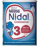 NIDAL CROISSANCE 3 POUDRE DES 1 ANS NESTLE