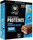 BARRES PROTEINEES CHOCOLAT U OXYGN