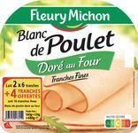 BLANC DE POULET DORE AU FOUR FLEURY MICHON