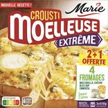 PIZZA CROUSTI MOELLEUSE EXTREME SURGELEE MARIE