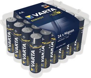 PACK DE 24 PILES ENERGY