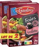 FOIES DE VOLAILLE CONFITS OU GESIERS DE VOLAILLE CONFITS LE GAULOIS
