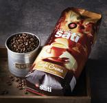 CAFE CREMA EN GRAINS 100 % ARABICA SATI