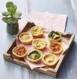 PLATEAU 8 MINI QUICHES