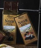 TABLETTE CHOCOLAT NOIR KLAUS