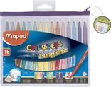 15 FEUTRES DE COLORIAGE MAPED COLOR PEPS
