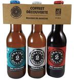 COFFRET DECOUVERTE BIERE GRAINE 2 BULLES BIO