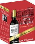 COTES DE BOURG AOP ROUGE CHÂTEAU MAYNE DE BERNARD