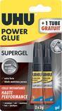 COLLE POWER GLUE GEL OU LIQUIDE 3g + 3g GRATUIT