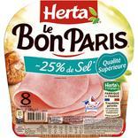 JAMBON LE BON PARIS -25% DE SEL HERTA