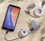 CHARGEUR SECTEUR USB + CABLE MICRO USB U