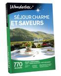 COFFRET CADEAUX WONDERBOX SÉJOUR CHARME ET SAVEURS