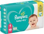 COUCHES BABY DRY GEANT PAMPERS