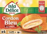 CORDON BLEU DE DINDE HALAL SURGELE ISLA DELICE