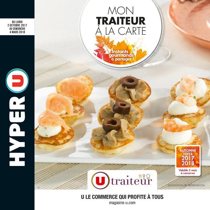 Catalogue Hyper U MON TRAITEUR À LA CARTE