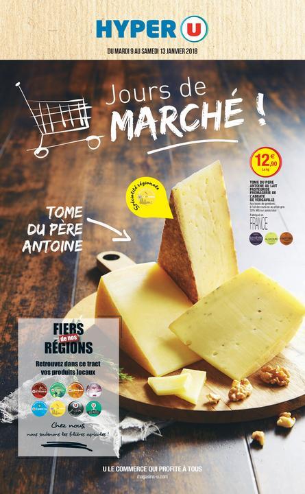 Catalogue Hyper U JOURS DE MARCHÉ !